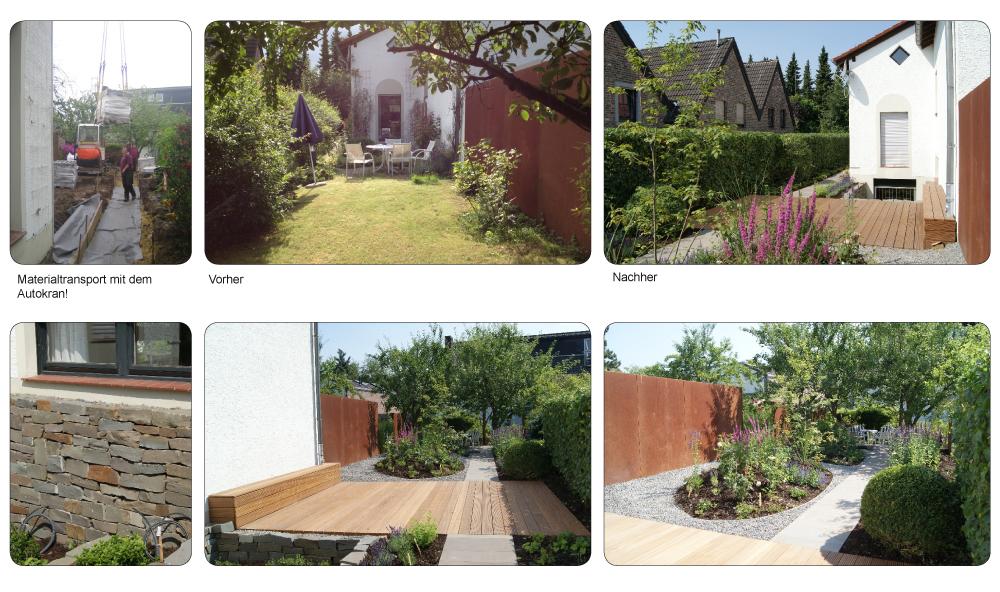 Vorher nachher gartenplanung gartengestaltung aachen for Gartengestaltung vorher nachher