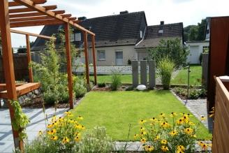 doppelhaushälfte eschweiler - gartenplanung & gartengestaltung aachen, Garten ideen