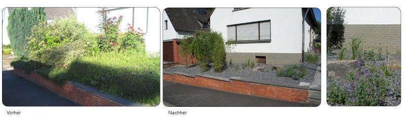 Gartenschönmacher Galerie: Vorher-Nachher