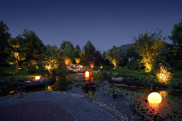 Gartenschönmacher Galerie: Licht im Garten