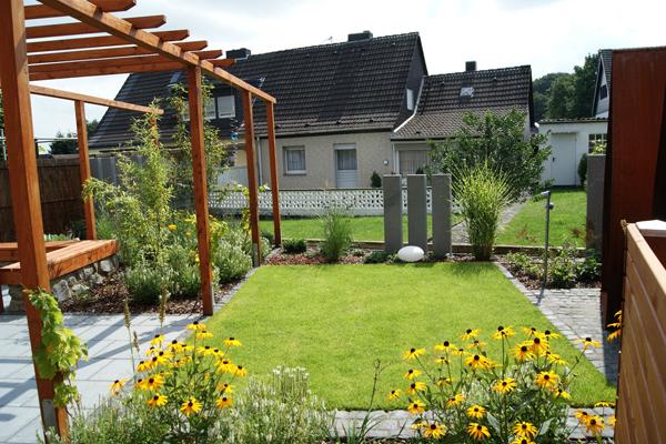 Gartenprojekt: Doppelhaushälfte Eschweiler