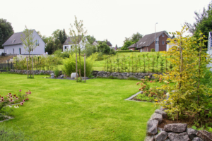 Gartenprojekt: Einfamilienhaus in Langerwehe