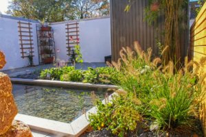 Gartenprojekt: Doppelhaushälfte in Aachen-Walheim